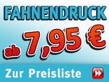 Fahnen Druck + Stoffbanner »Aktion«