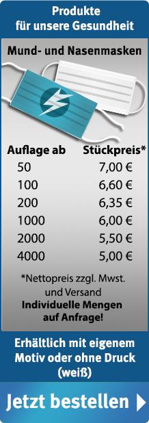 FahnenSkandal: Mund- und Nasenmasken ab 5,00€/Stk netto